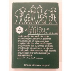 Enciklopedija šahovskih otvaranja/Encyclopedia of chess openings / IV. DÍL